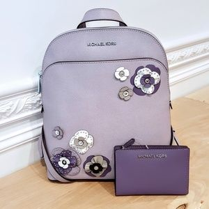 NWT Michael Kors Emmy Backpack & Wallet